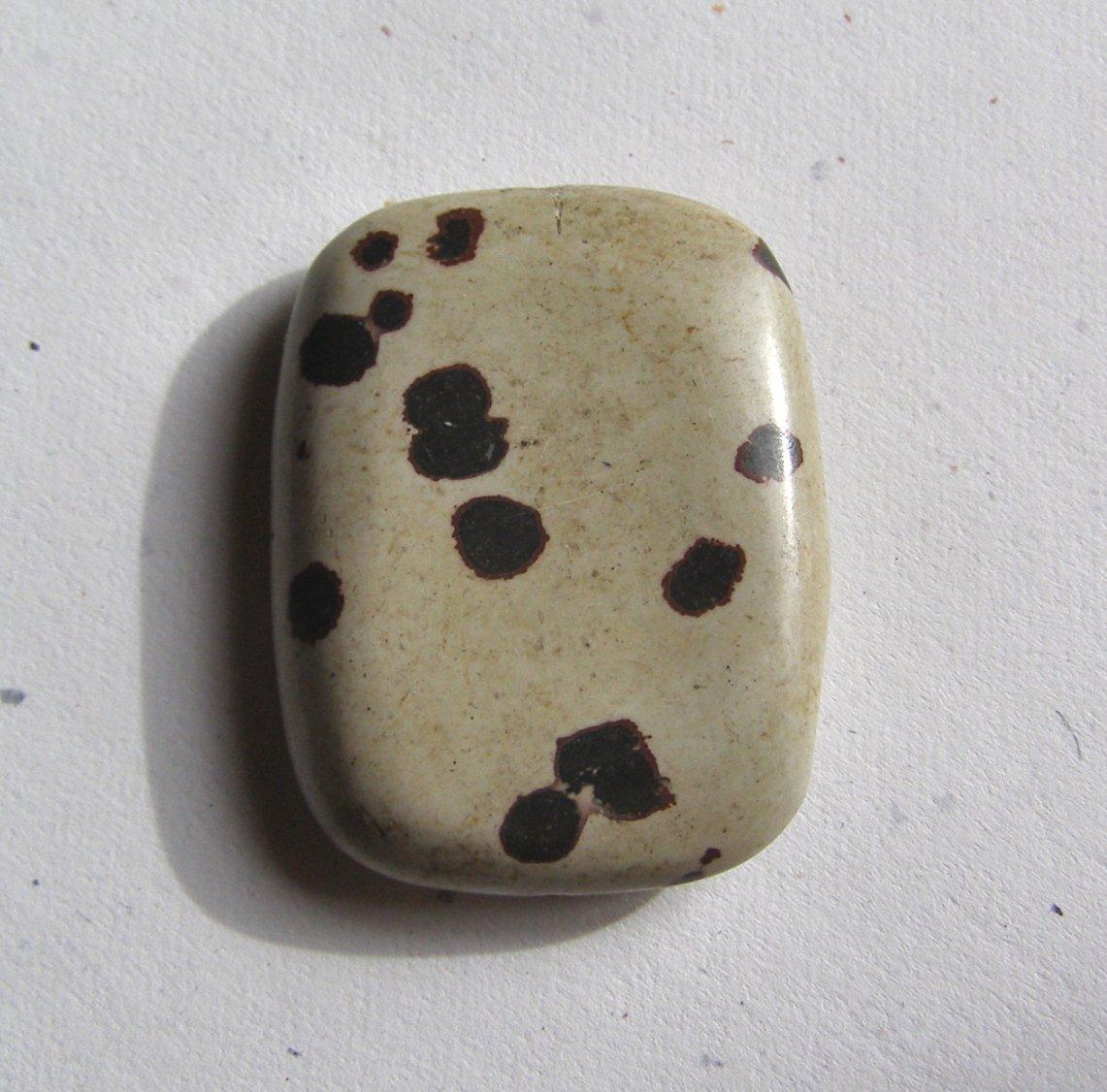 Artistic Jasper 40x31 Rectangle Pendant Bead