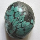 Smooth Turquoise Nugget 32x27 Pendant Bead