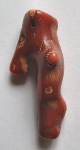 Coral Branch 56X25 Pendant Bead