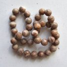 Web Jasper 10mm Round Beads 15&quot; strand