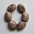 6 Surreal Jasper 20x15 Oval Beads