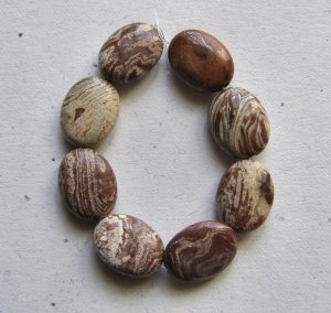 8 Surreal Jasper 16x12 Oval Beads