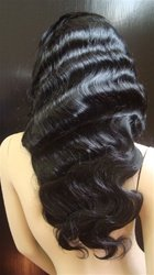 """Indian Remy Body Wave 16"""" full lace Unit"""