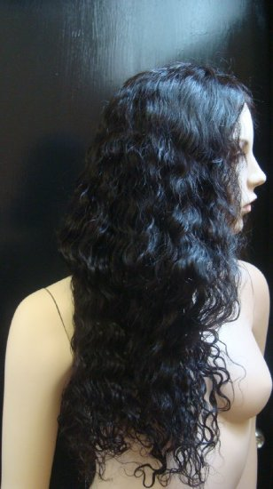 "Indian Remy Spanish Wave  22"" full lace Unit"