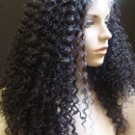 "Chinese Virgin Kinky Curly  18"" full lace Unit"