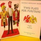 Two Plays For Puritans - Heritage Press - 1966