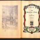 The Mysteries of Paris Eugene Sue Vol 3 Edition de Luxe
