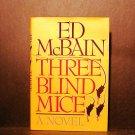 Three Blind Mice Ed McBain HCDJ Fine