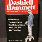 Dashiell Hammett Five Complete Novels in 1 vol HCDJ Fine
