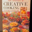 Treasury of Creative Cooking by Pub Intl 1992 HC VGC