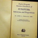Synonyms, Antonyms & Prepositions Fernald Funk 1947
