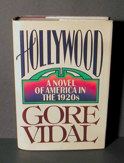 Hollywood Novel of America 1920s Gore Vidal HCDJ 1st Ed
