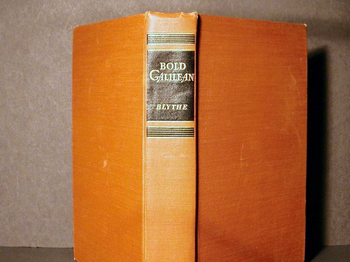 Bold Galilean LeGette Blythe Hard Cover 1948 GC