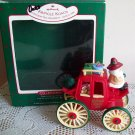 Here Comes Santa Kringle Koach #10 Christmas Ornament 1988 Coach