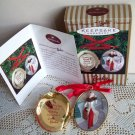 Hallmark Holiday Memories Barbie Ornament 1997 Locket Victorian Christmas Collection