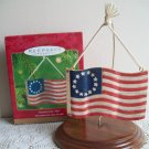 America for Me Hallmark Flag Christmas Ornament 2001