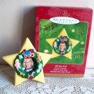 All Star Kid Photo Holder Hallmark Christmas Ornament 2001