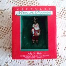 Jolly St. Nick Hallmark 1988 Miniature Christmas Ornament