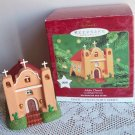 Third 3 in Hallmark Candlelight Services Adobe Church 2000 Magic Ornament