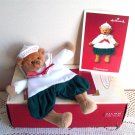 Hallmark Grandson Gift Holder Teddy Bear Christmas ornament 2002