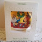 Hallmark Grandson 1981 Satin Ball Christmas Ornament