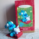 Blue's Clues and Periwinkle Hallmark 2001 Christmas Ornament