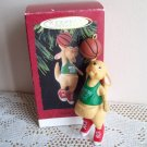 Hallmark Dunkin Roo Christmas Ornament 1993 Basketball Sport
