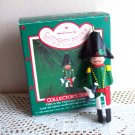 Hallmark 5 Fifth in Clothespin Soldier Series French Officer Ornament moveable arms