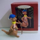 Hallmark Christmas Ornament Kanga and Roo from Winnie the Pooh 1993