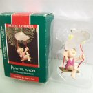 Hallmark Playful Angel 1989 Baby Christmas Ornament
