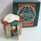 Hallmark Collectors The Club House Ornament 1988 Polar Bear