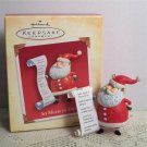So Much to Do Hallmark Christmas Ornament 2004 Santa