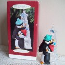 Friendly Boost Hallmark Christmas Ornament Penguins 1995