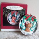 Snowy Hideaway 1993 Fox Hallmark Christmas Ornament