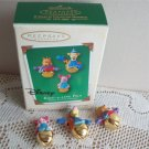Ring-a-Ling Pals 3 Winnie the Pooh Hallmark Disney Ornaments 2003