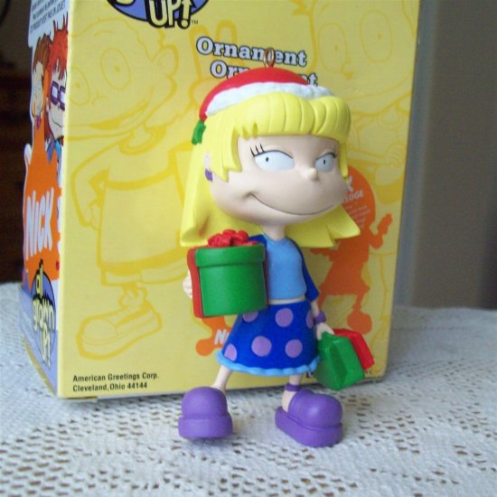 All Grown Up Toys : Nickelodeon rugrats angelica all grown up christmas ornament