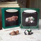 Miniature Merry Walruses Peaceful Pandas Noah's Ark Animal Collection Hallmark