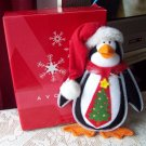 Avon Penguin Window Christmas Decoration