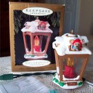 Chris Mouse Inn 1996 Lantern Magic Lighted Ornament