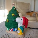 Peanuts Snoopy and Woodstock 1993 Magic Blinking Lights Tree Hallmark 3rd in Series