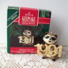 Fabulous Decade Hallmark 1991 #2 in Series Raccoon