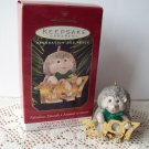 Hallmark Fabulous Decade #8 in series Hedgehog on brass 1997