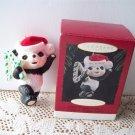 Teddy Bear Years Hallmark Childs Fourth Christmas 1995 Candy Cane 4