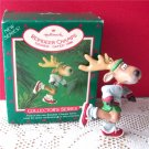 Reindeer Champs Dasher Hallmark 1986 First in Series jogging