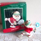 Hallmark Ornament Titled Love Santa 1988 Tennis Sport