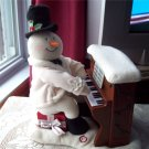 Jingle Pals Piano Playing Snowman third #3 Hallmark 2005 Animated