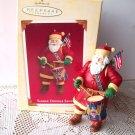 Yankee Doodle Santa 2005 Hallmark Christmas Ornament