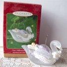 New Millennium Baby Hallmark Swan Ornament