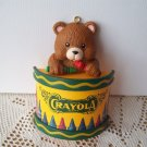 Crayola Teddy Bear Drumming with Crayons Ornament 1992