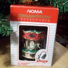 Noma Merry Go Round Ornamotion Christmas Carousel White Box